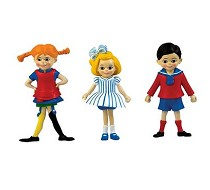 Pippi, Boy and Girl